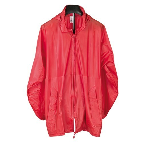 IMPERMEABLE ROJO HIPS